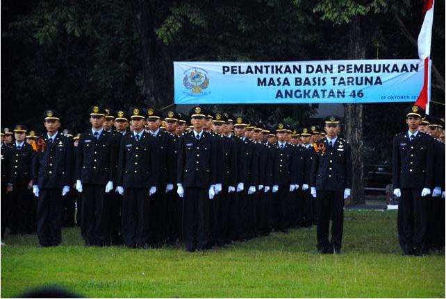 Taruna Sekolah Tinggi Perikanan Jakarta Angkatan 46