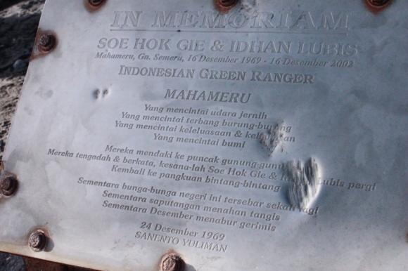 Mahameru in Memoriam
